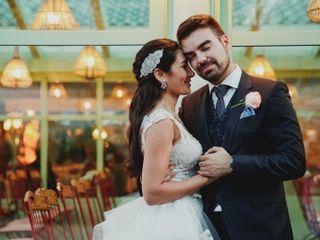 La boda de Hazar y Pedro