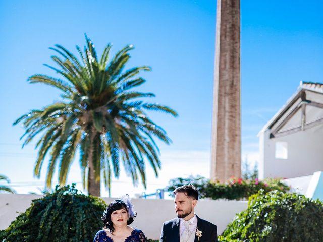 La boda de Enrique y Marta en Sagunt/sagunto, Valencia 61