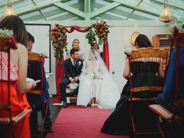 La boda de Pedro y Hazar en Torrelodones, Madrid 16