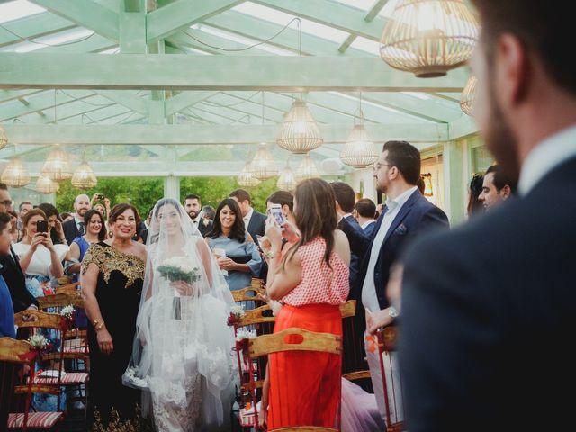 La boda de Pedro y Hazar en Torrelodones, Madrid 2