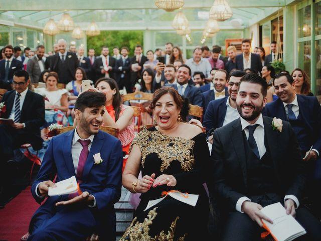 La boda de Pedro y Hazar en Torrelodones, Madrid 71