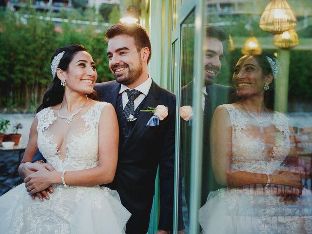 La boda de Pedro y Hazar en Torrelodones, Madrid 84