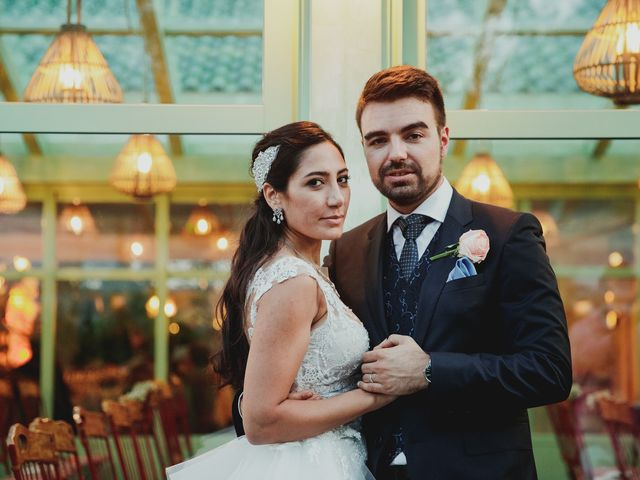 La boda de Pedro y Hazar en Torrelodones, Madrid 119