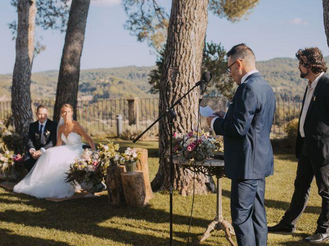 La boda de Didac y Anaïs en Sant Marti De Tous, Barcelona 16