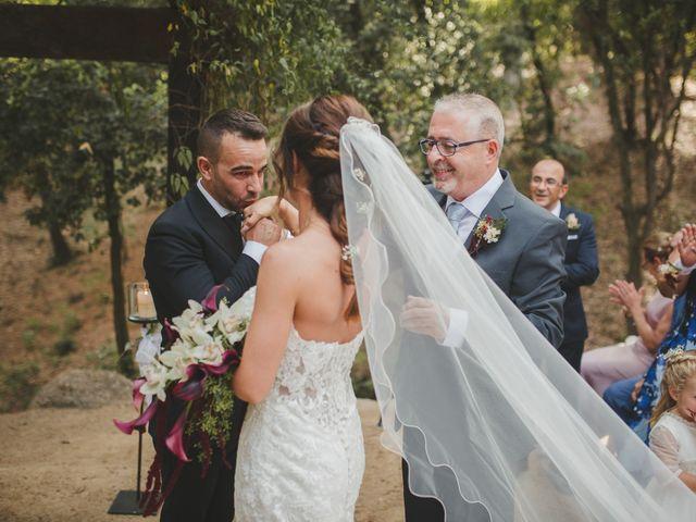 La boda de Fer y Ayesh en Caldes De Montbui, Barcelona 32