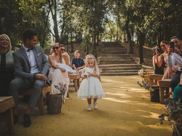 La boda de Fer y Ayesh en Caldes De Montbui, Barcelona 39