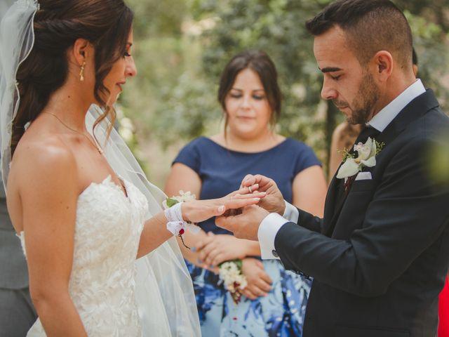 La boda de Fer y Ayesh en Caldes De Montbui, Barcelona 40