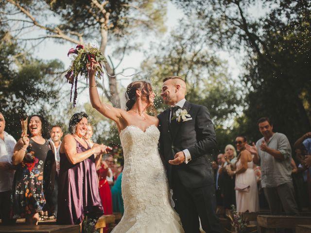 La boda de Fer y Ayesh en Caldes De Montbui, Barcelona 43