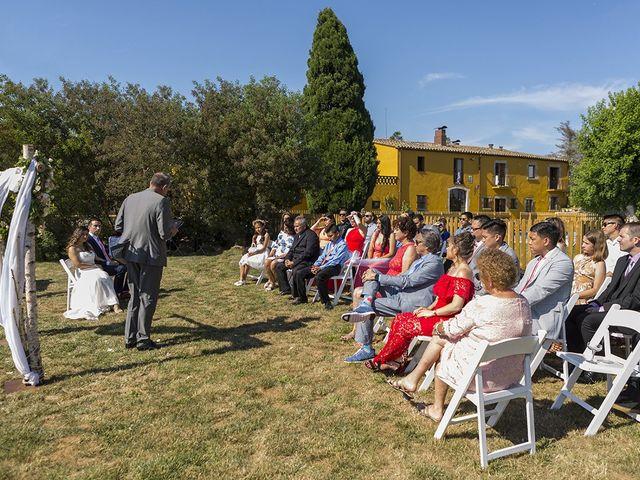 La boda de Kenneth y Nancy en Sils, Girona 37