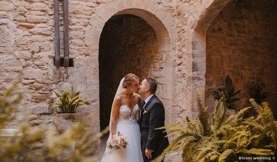 La boda de Didac y Anaïs en Sant Marti De Tous, Barcelona
