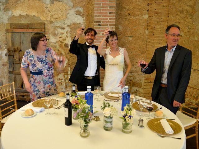 La boda de David y Neus en Riudoms, Tarragona 15