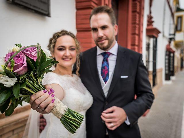 La boda de Teo y Raquel en Fuentes De Andalucia, Sevilla 19