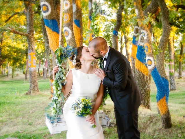 La boda de Miguel y Sara en Garrafe De Torio, León 19