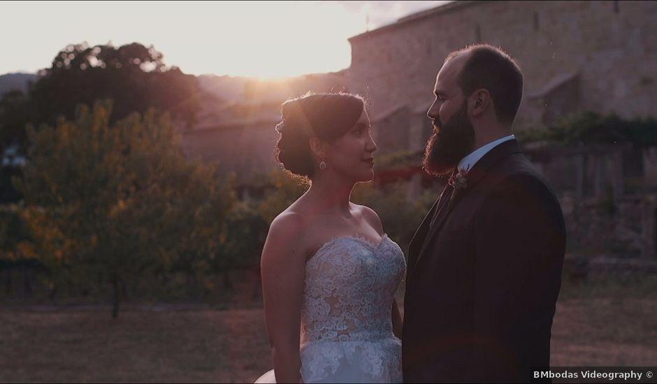 La boda de David y Raquel en Leiro (Capital), Orense