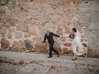 La boda de Marie y Isaac