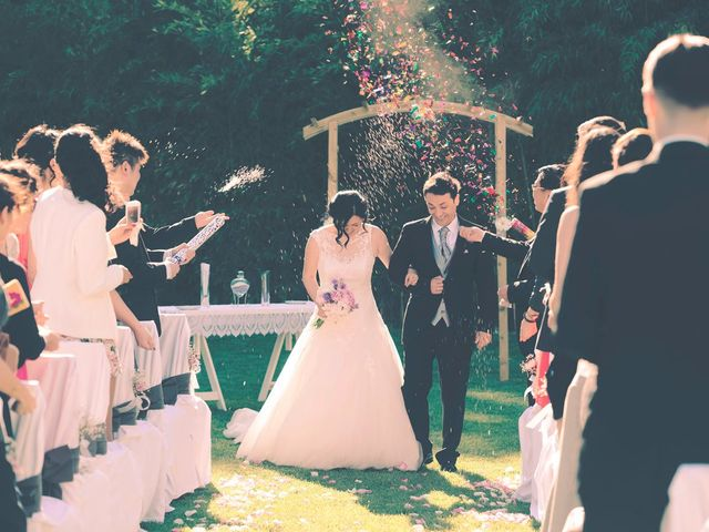 La boda de Christian y Yun en Sant Fost De Campsentelles, Barcelona 52