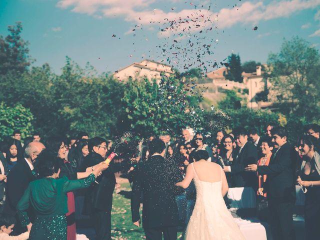 La boda de Christian y Yun en Sant Fost De Campsentelles, Barcelona 53