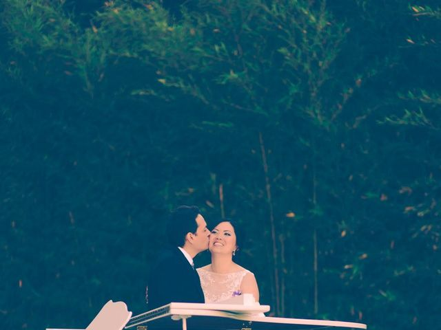 La boda de Christian y Yun en Sant Fost De Campsentelles, Barcelona 54