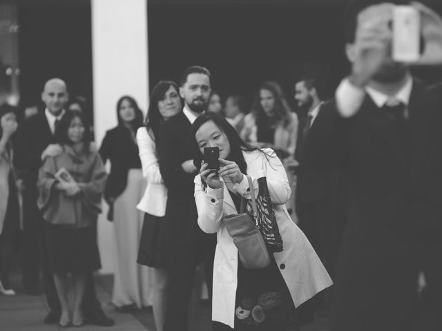La boda de Christian y Yun en Sant Fost De Campsentelles, Barcelona 61