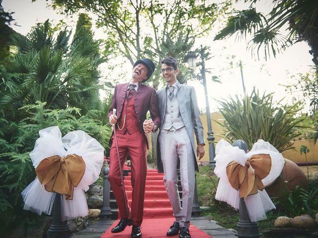 La boda de Manuel y David en Galapagar, Madrid 8