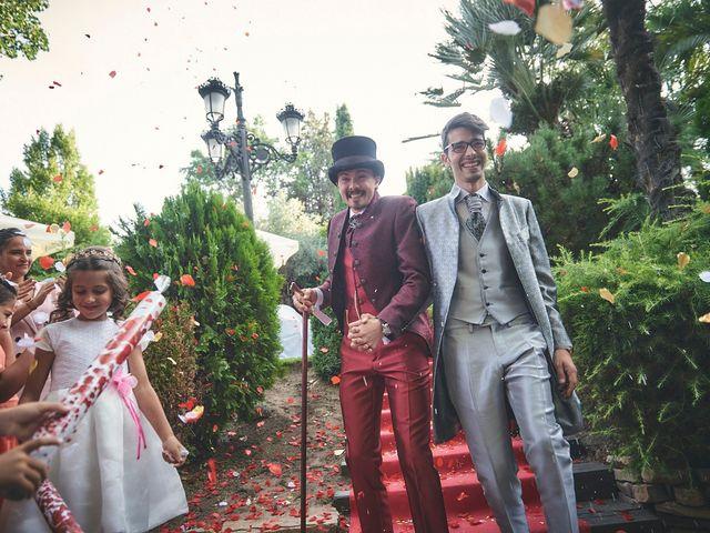 La boda de Manuel y David en Galapagar, Madrid 9