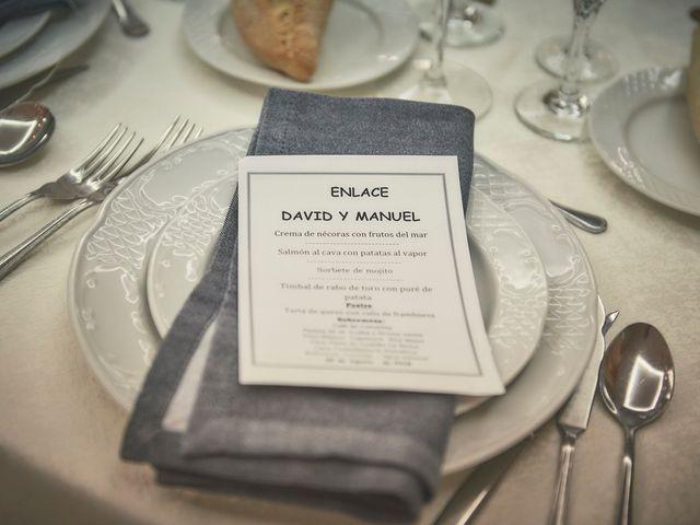 La boda de Manuel y David en Galapagar, Madrid 12
