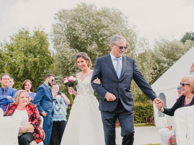 La boda de Iñaki y Leire en Quejana, Álava 4