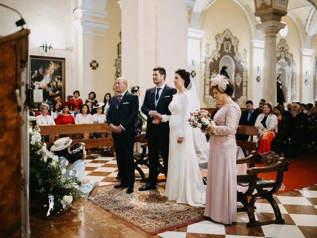 La boda de Antonio y Charo en Los Corrales, Sevilla 46