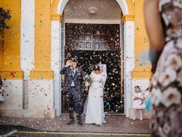 La boda de Antonio y Charo en Los Corrales, Sevilla 49