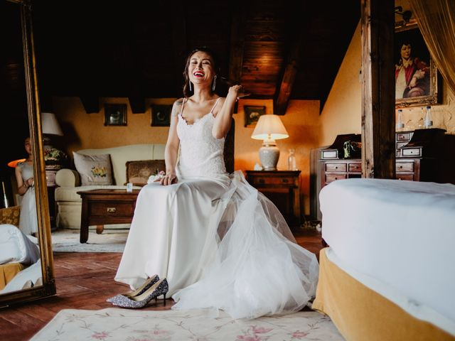 La boda de Juanjo y Happy en Mangiron, Madrid 15