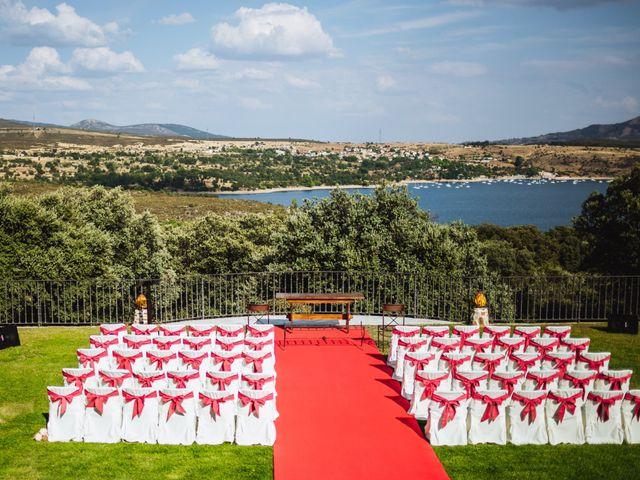 La boda de Juanjo y Happy en Mangiron, Madrid 51