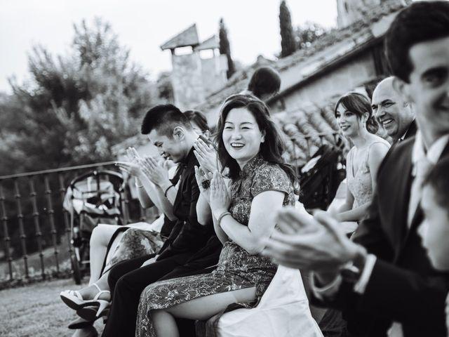 La boda de Juanjo y Happy en Mangiron, Madrid 80