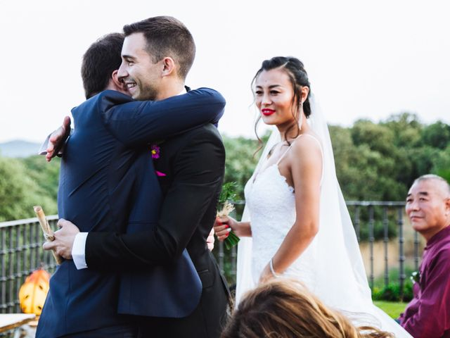 La boda de Juanjo y Happy en Mangiron, Madrid 83