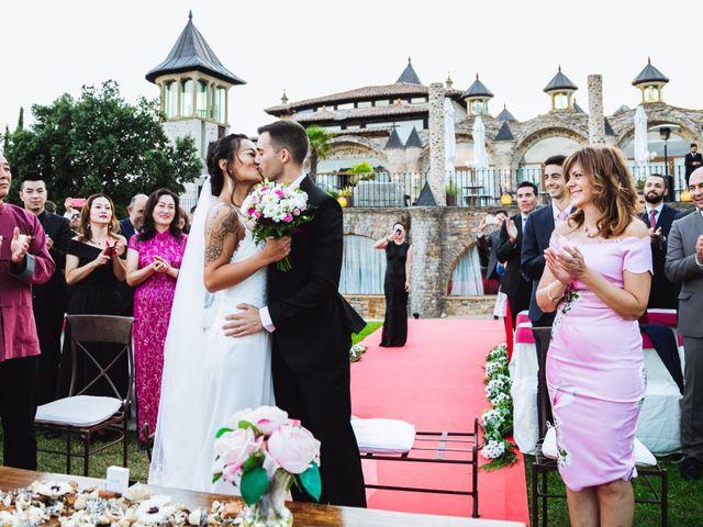 La boda de Juanjo y Happy en Mangiron, Madrid 94