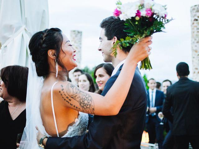 La boda de Juanjo y Happy en Mangiron, Madrid 110