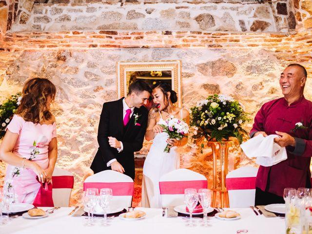 La boda de Juanjo y Happy en Mangiron, Madrid 123