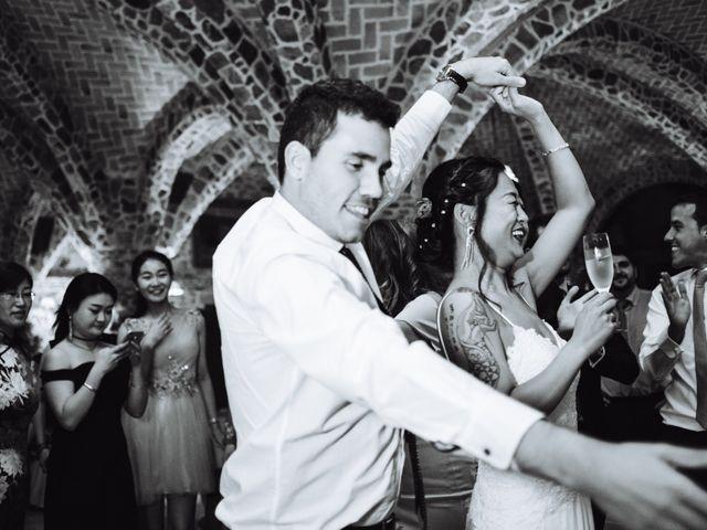 La boda de Juanjo y Happy en Mangiron, Madrid 129