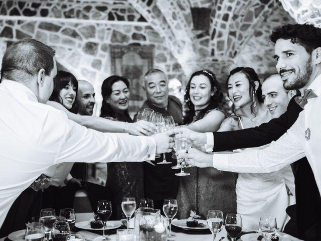 La boda de Juanjo y Happy en Mangiron, Madrid 131