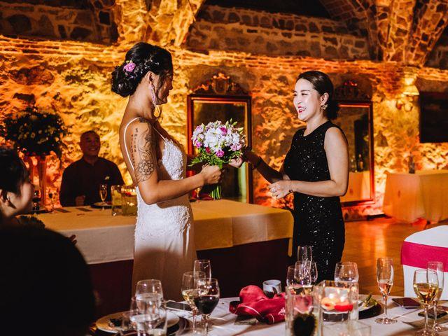 La boda de Juanjo y Happy en Mangiron, Madrid 134