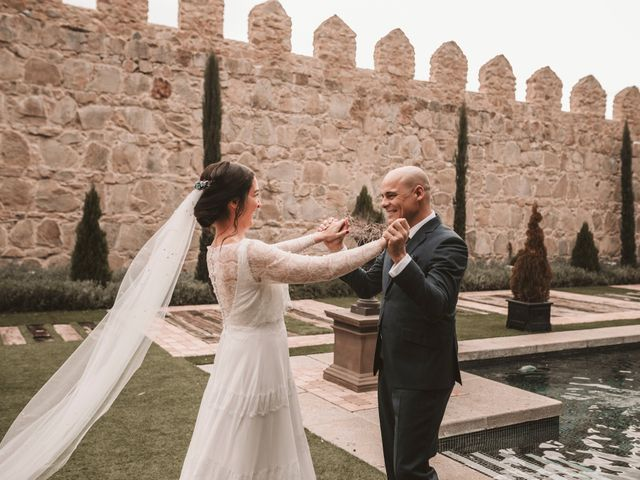 La boda de Isaac y Marie en Ávila, Ávila 120