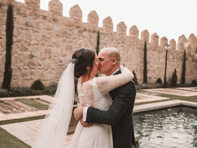La boda de Isaac y Marie en Ávila, Ávila 123