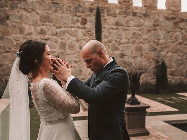 La boda de Isaac y Marie en Ávila, Ávila 130
