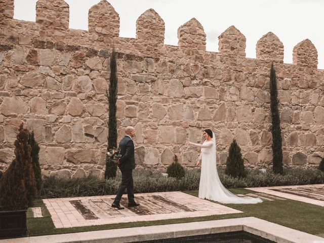 La boda de Isaac y Marie en Ávila, Ávila 160