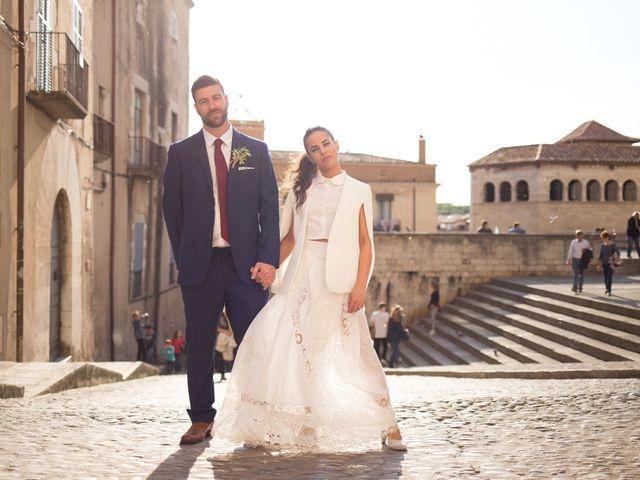 La boda de Tal y Ben en La Bisbal d'Empordà, Girona 31