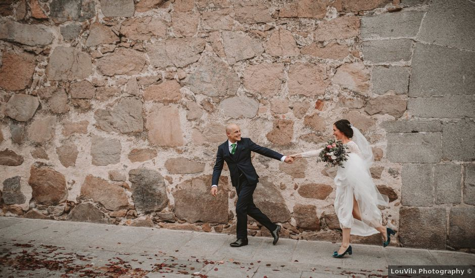 La boda de Isaac y Marie en Ávila, Ávila