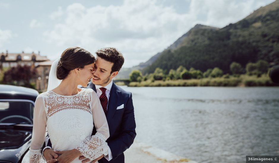 La boda de David y Paula en Limpias, Cantabria