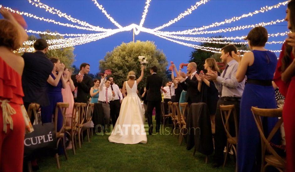 La boda de Óscar  y Ana en Aspe, Alicante