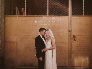 La boda de Jenny y Cathal 1