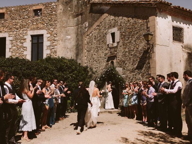 La boda de Cathal y Jenny en La Bisbal d'Empordà, Girona 125