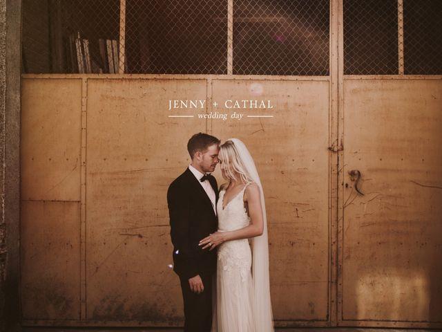 La boda de Cathal y Jenny en La Bisbal d'Empordà, Girona 1